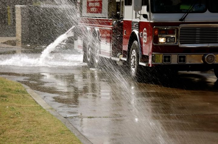 Water and Fire (truck)....