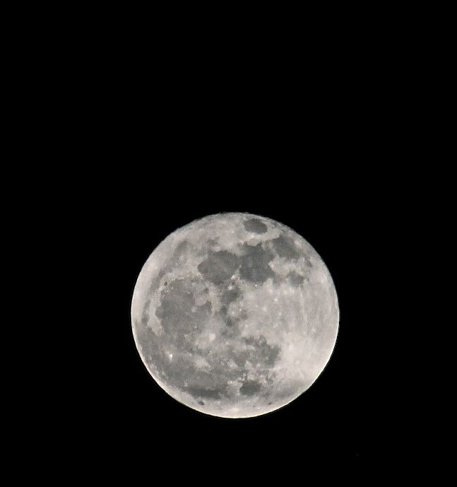 """The last full moon of 2012, also referred to as the """"long night's moon"""" being the full moon closest to the winter solstice...."""