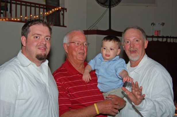 Four generations  (photo by Doyt Sheets)
