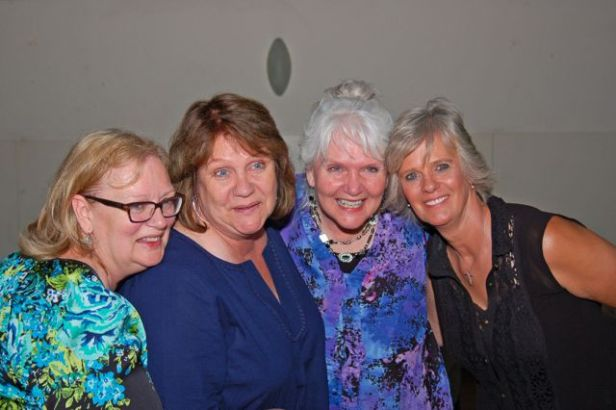 The Sisters Four - missing only a brother (photo by Doyt Sheets)