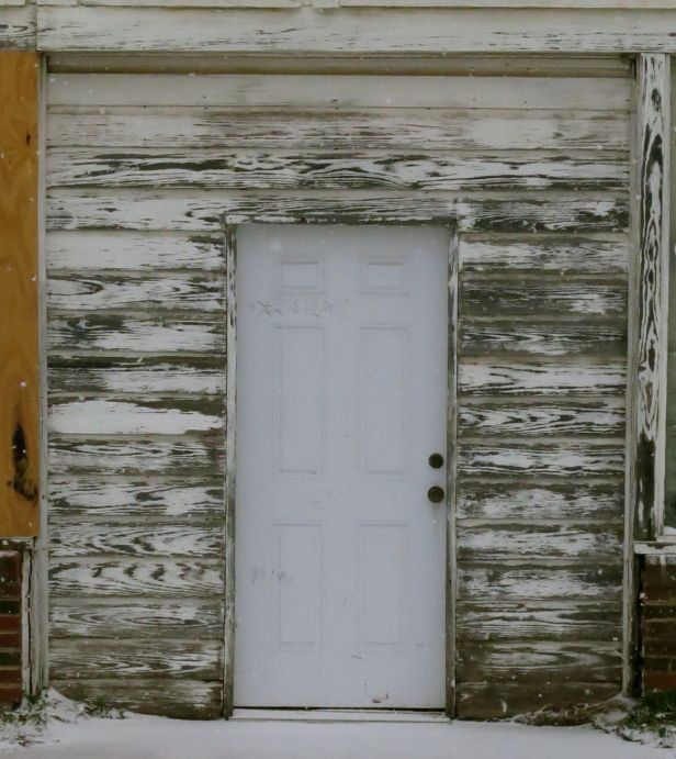 Old front, new door…arrgghh