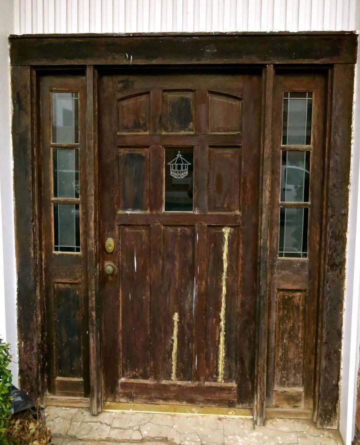 Does the character of a door give any indication to what waits inside?