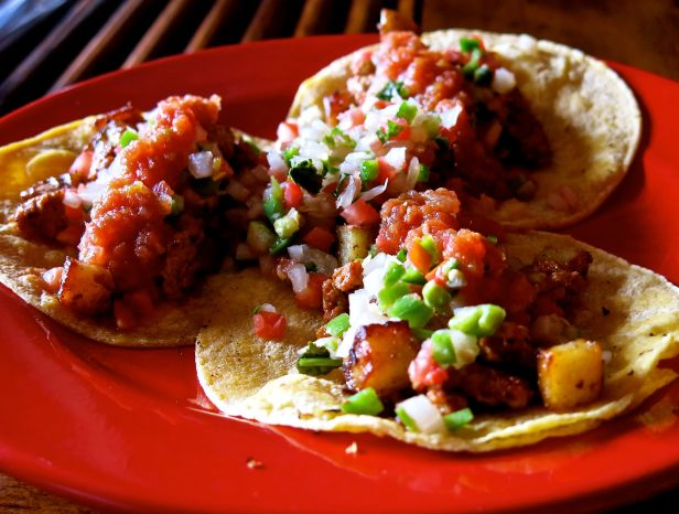 And all that consumed as tacos - is not just about any food better when wrapped in a corn tortilla (with homemade pico de gaio and fresh salsa)