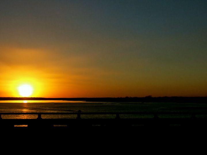 Good Night over Lewisville Lake….