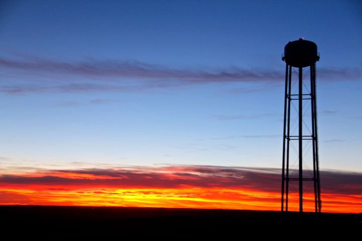 Kansas, the land of Ahhhhs…and beautiful sunsets